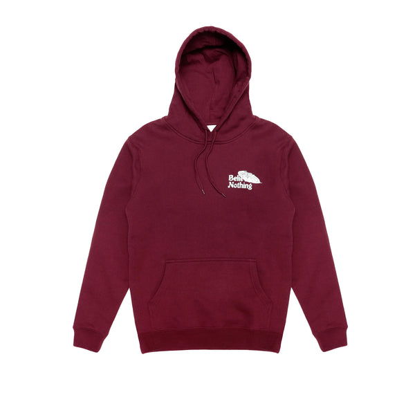 "NOTHING ""Believe Nothing"" Hoody - Maroon"