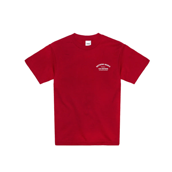 "NOTHING ""Text Me"" Tee - Maroon"