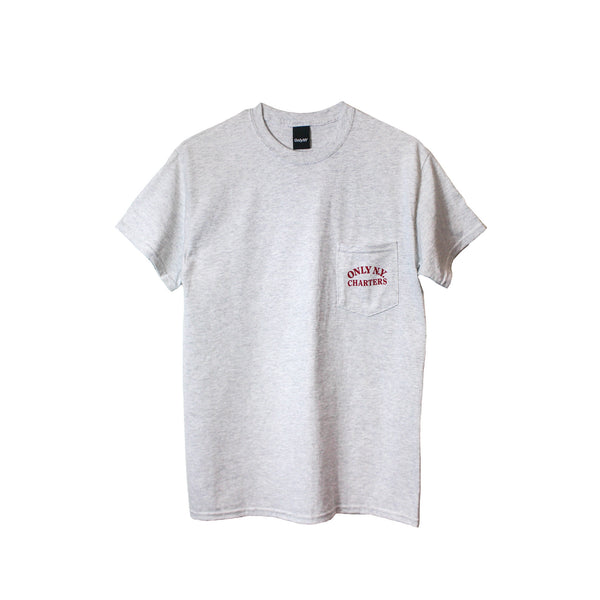 Only NY Charter Tee - Ash Grey