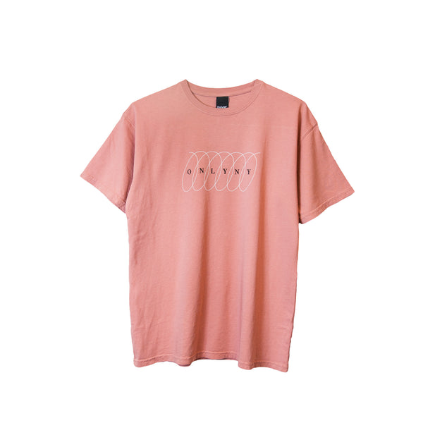 Only NY Spiral Tee - Vintage Pink