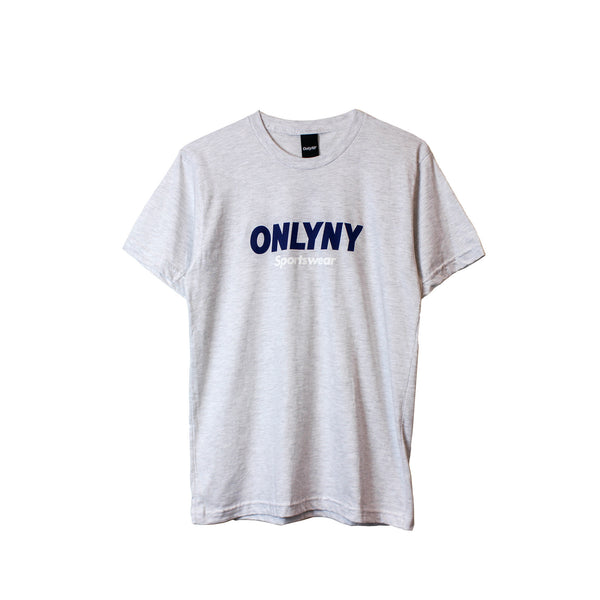 Only NY Sportsman Tee - Ash Grey