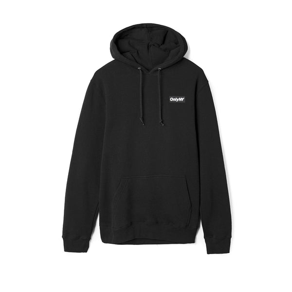 Only NY Outline Logo Hoody - Black