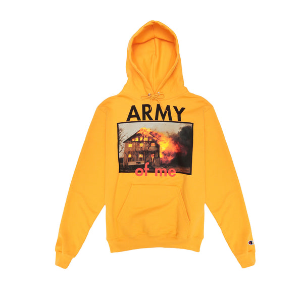 "Pleasures ""Army"" Hoodie- Yellow"