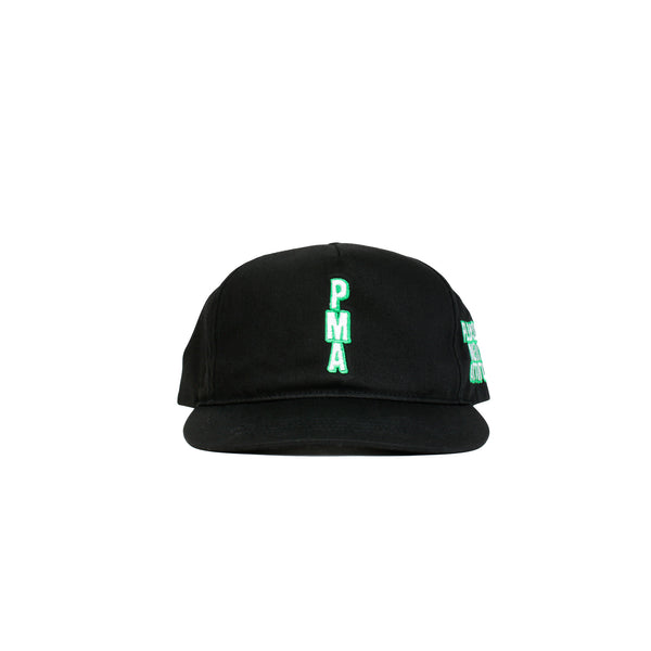 "Pleasures ""TV"" Snapback- Black"