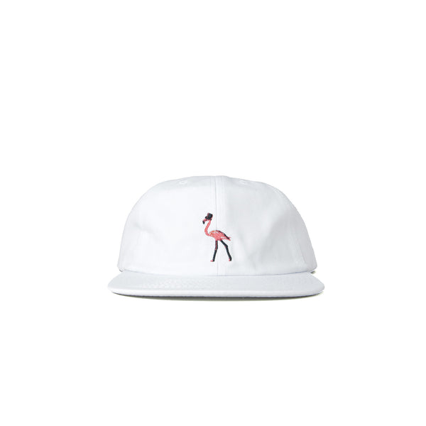 Paterson Mingo 6 Panel Hat - White