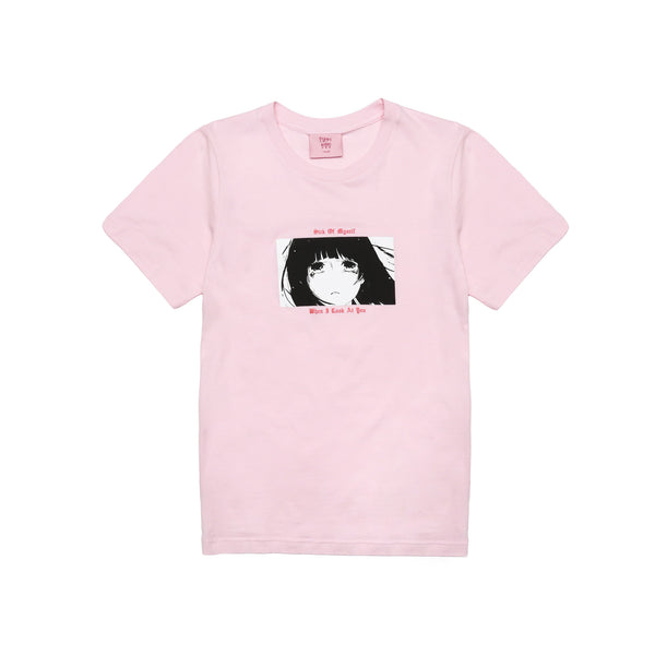 Psychic Hearts 100% Fun T-Shirt - Pink