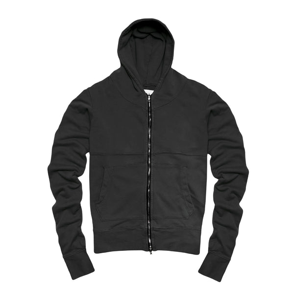 Premium Co Men's Full Zip- Black