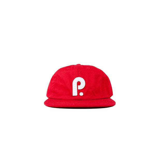 Paterson OG P Logo 6 Panel Hat- Red