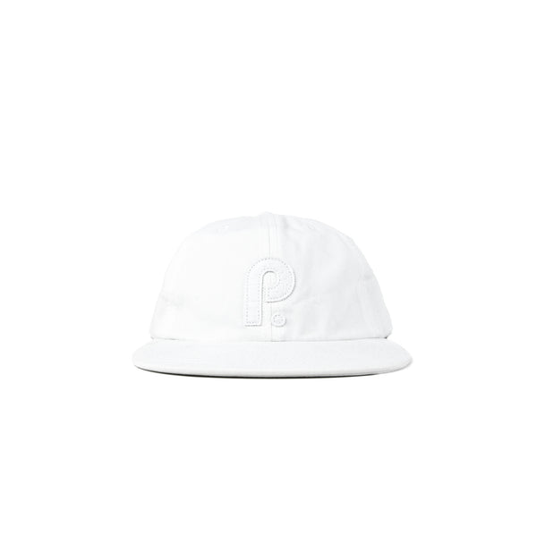 Paterson OG P Logo 6 Panel Hat- White