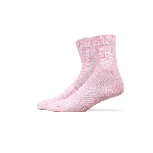 Extra Butter Butter Toes Top Sock - Strawberry Cream