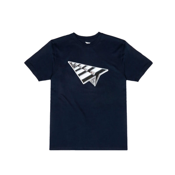"Roc Nation ""Salute"" S/S Tee- Navy"