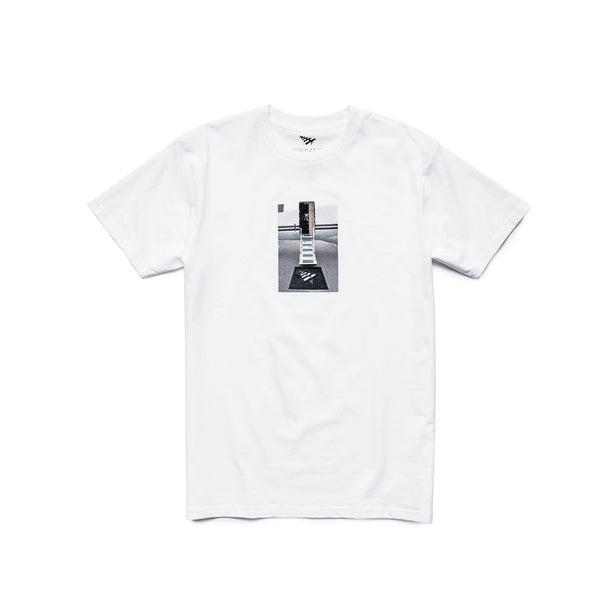 Roc Nation Men's Clear Port Tee - White