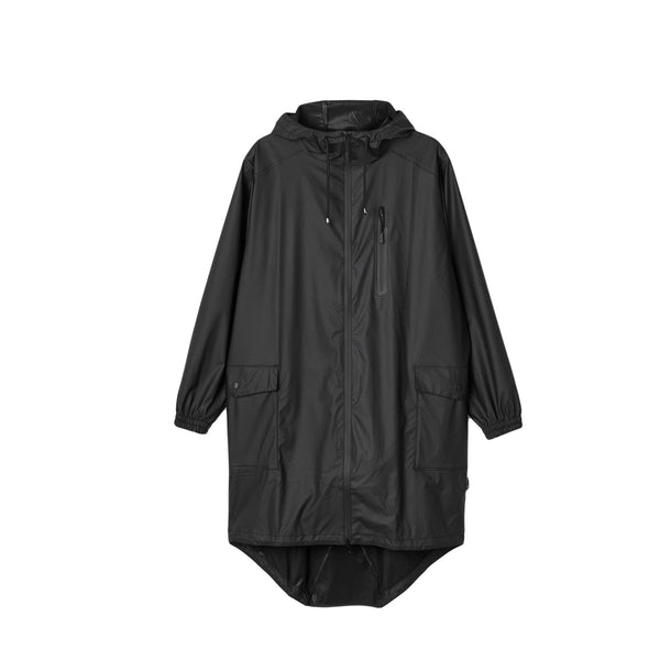 RAINS Parka Coat - Black