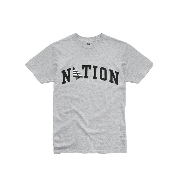 Roc Nation Men's Nation Tee - Heather Grey