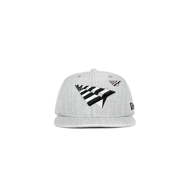 Roc Nation Old School Crown Hat - Grey