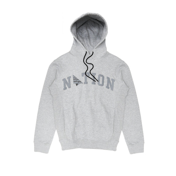Roc Nation Men's Tonal Nation Hoodie  - Heather Grey