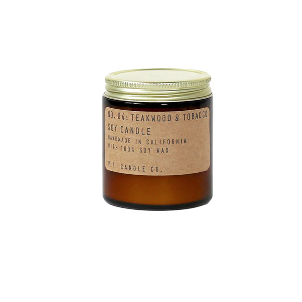 P.F. Candle Co. NO.04 Teakwood & Tobacco Soy Candle