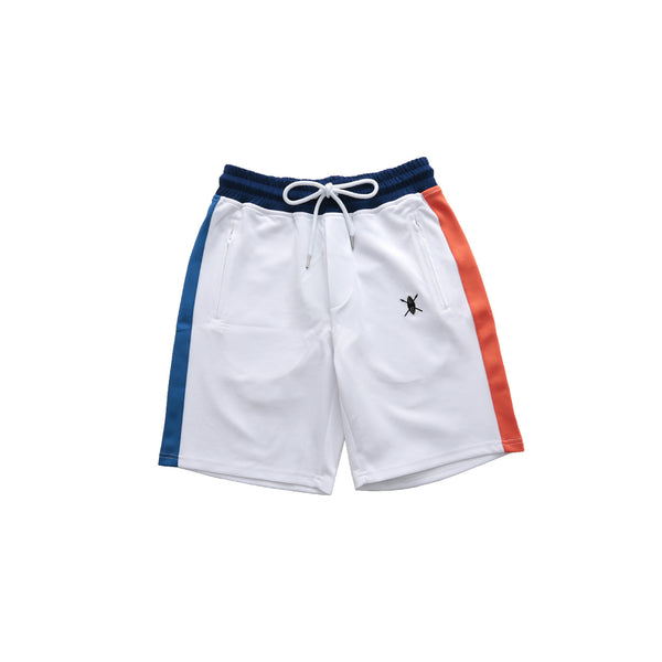 Daily Paper Men's Colorblocking Short- White