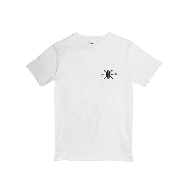 Daily Paper Men's White Flower Piece T-shirt- White