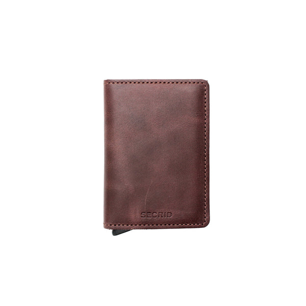 Secrid Slimwallet- Vintage Chocolate