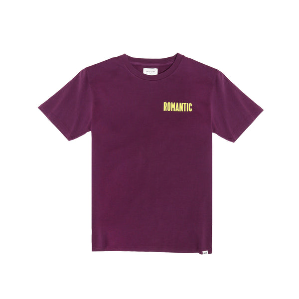 "Wood Wood Men's ""Sami"" T-Shirt- Dark Purple"