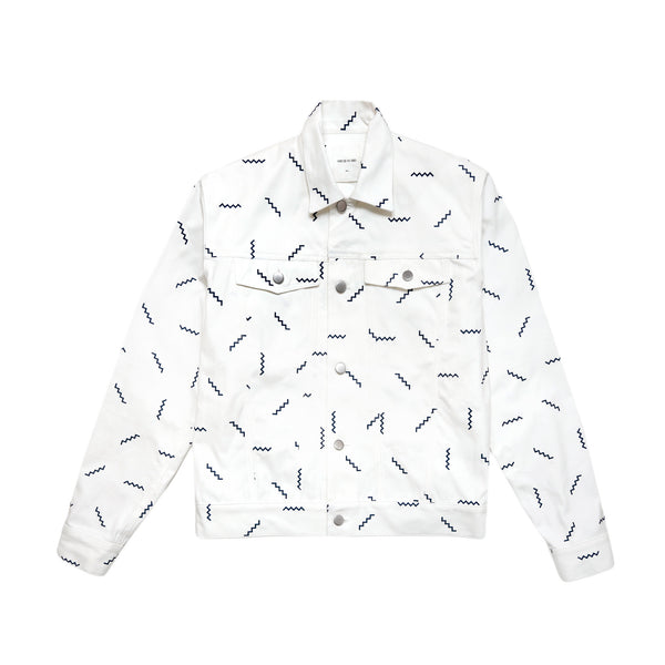 Wood Wood Men's Spencer Jacket- White