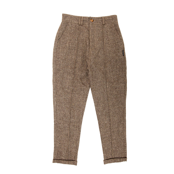 i love ugly, mens, men, men clothing, woolen, wool, woolen pant, almond, edo pant, pant, pants, pleated, i love ugly edo pant