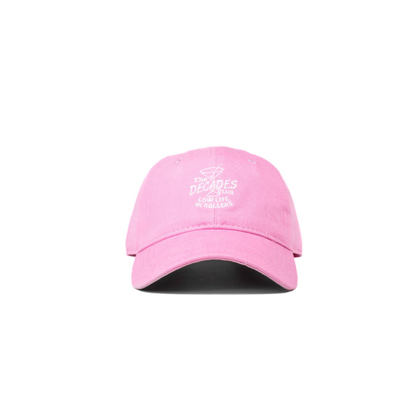 decades, club, pink, cap, hat, decades hat co, decades hats