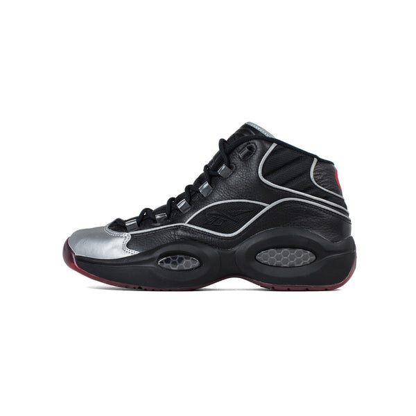 reebok, mens, question mid a5, bd4152, questions, question mid, jadakiss, 3m, reflective, silver