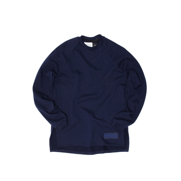Extra Butter Narrator Zoom Crewneck - Navy