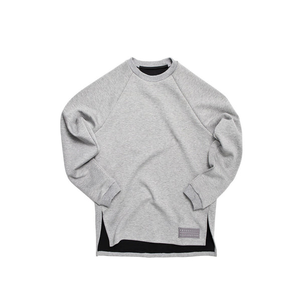 Extra Butter Narrator Zoom Crewneck - Light Grey
