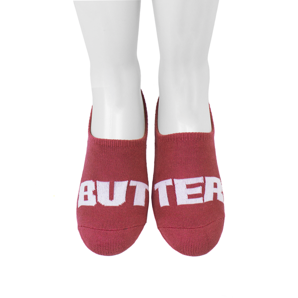 Extra Butter Butter Toes Ghost Sock - Mesa Rose