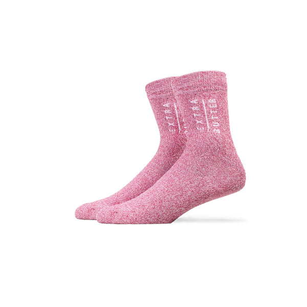 Extra Butter Butter Toes Top Sock - Mesa Rose Marl