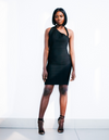 Alora Black Midi Dress uloani.myshopify.com
