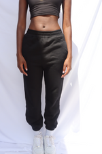 BLACK ZEZE SWEAT PANTS uloani.myshopify.com