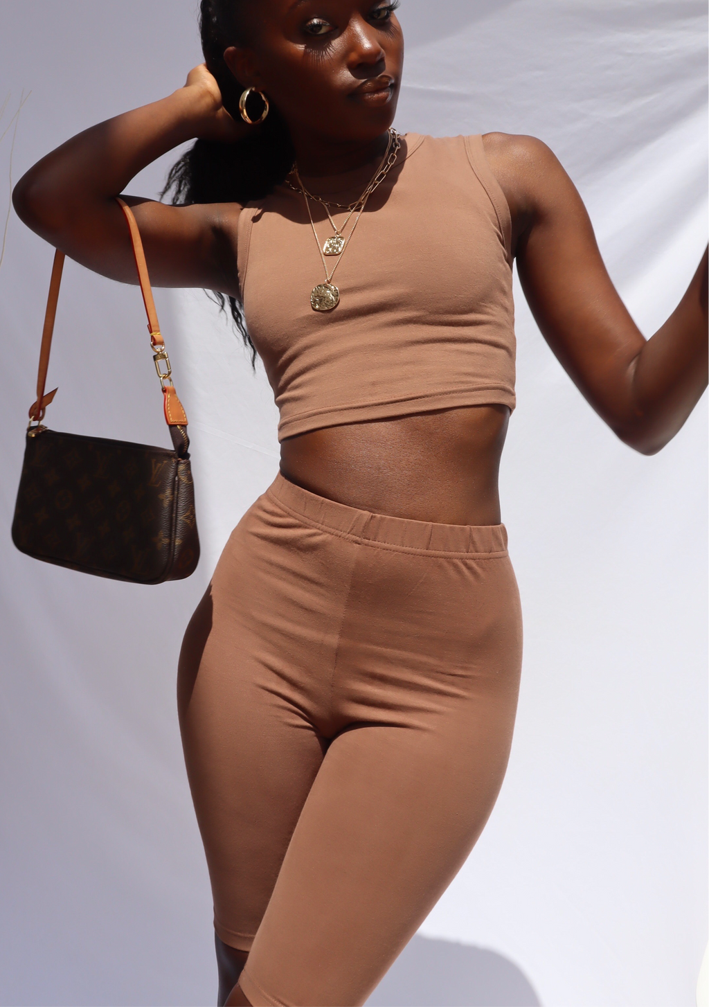 BROWN SANDY CAMI TANK TOP uloani.myshopify.com