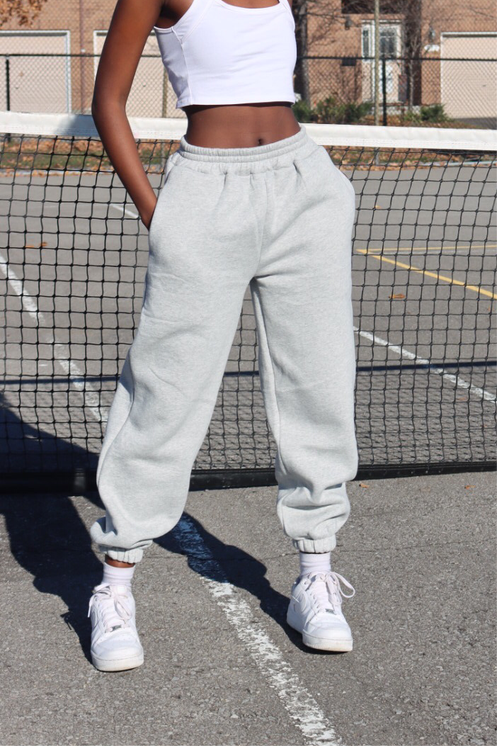 LIGHT GREY PALOMA SWEATPANTS