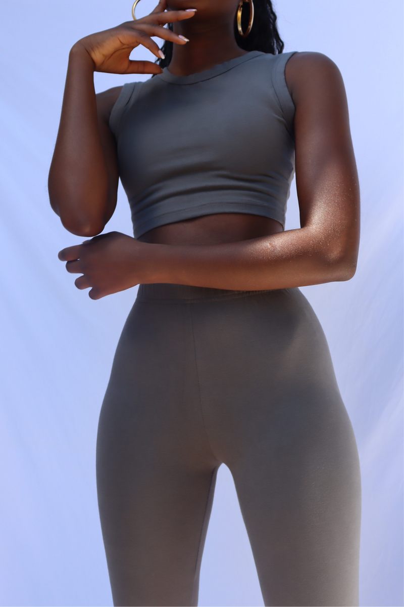 GREY SANDY CAMI CROP TOP uloani.myshopify.com