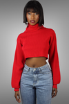 BLAIR RED CROPPED SWEATER uloani.myshopify.com