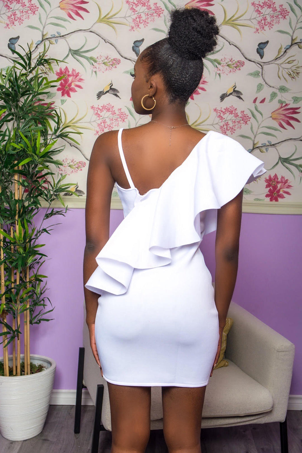 Didi- White Mini Dress uloani.myshopify.com
