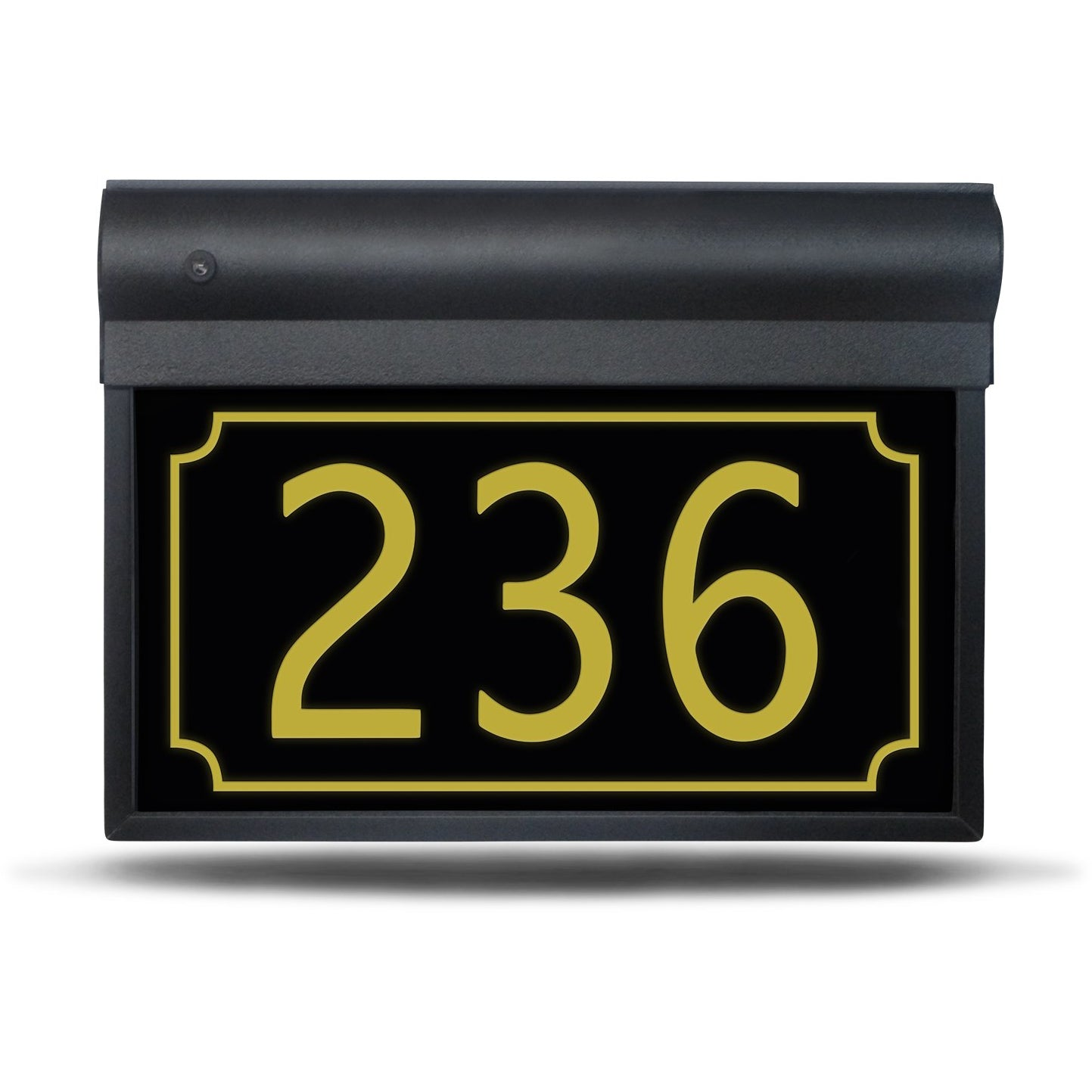 SL-201-17'' – Enlight Border with Bevel – Illuminated Address Sign