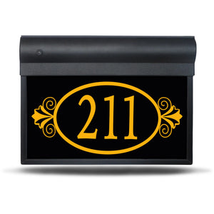 "SL-300-17""- Ornamental – Illuminated Address Sign"