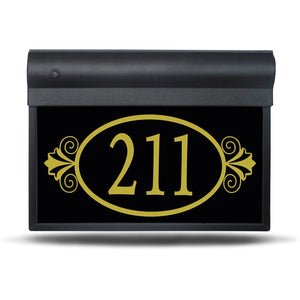 "SL-300-14""- Ornamental – Illuminated Address Sign"