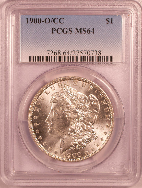 1900-O/CC Morgan Dollar  PCGS MS64