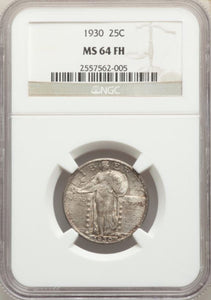 1930 Standing Liberty Quarter  NGC MS64 FH