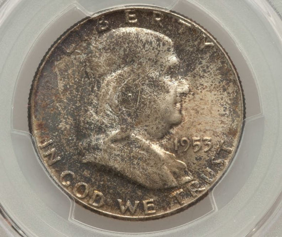 1953 Franklin Half Dollar  PCGS MS65