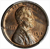 1912-S Lincoln Cent  PCGS MS63BN