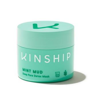 Kinship Mint Mud Deep Pore Detox jar