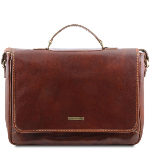Padova Exclusive leather laptop case