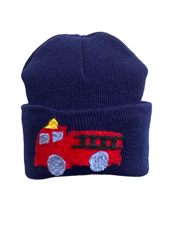 Fire truck pull down hat